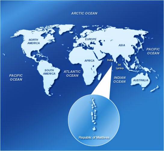 ilhas maldivas no mapa onde fica