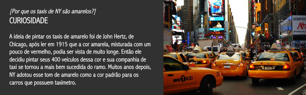 03 taxis de ny amarelos por que - dicas de viagem nova york NYC