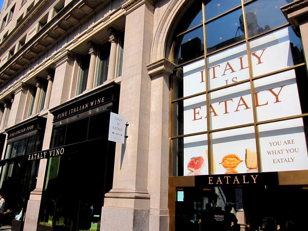 Entrada do complexo gastronômico Eataly NYC | foto: novayorkevoce.com