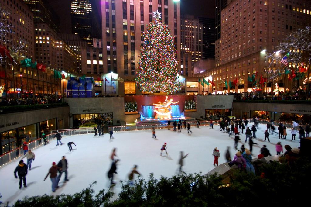 11-2 pista patinação no gelo rockefeller center - dicas de viagem nova york NY