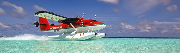 hidroavião maldivas