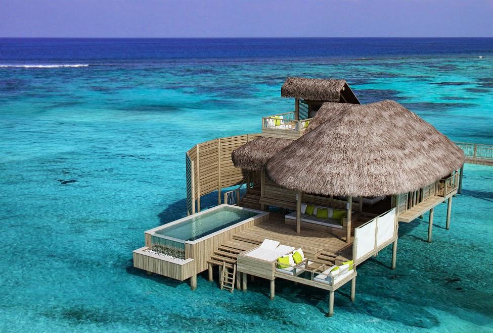 Six Senses Laamu Water Villa hotel ilhas maldivas