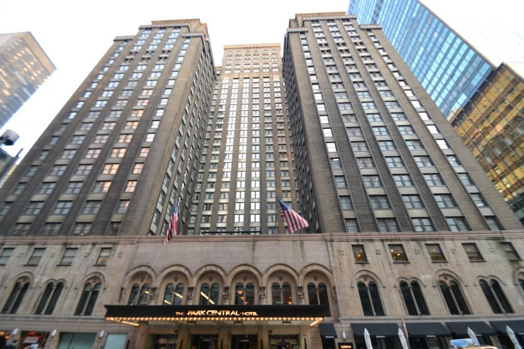 hotel em nova york - Park central