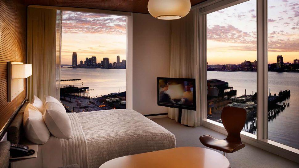 24-3 bar top of the standard hotel - dicas de viagem nova york NY