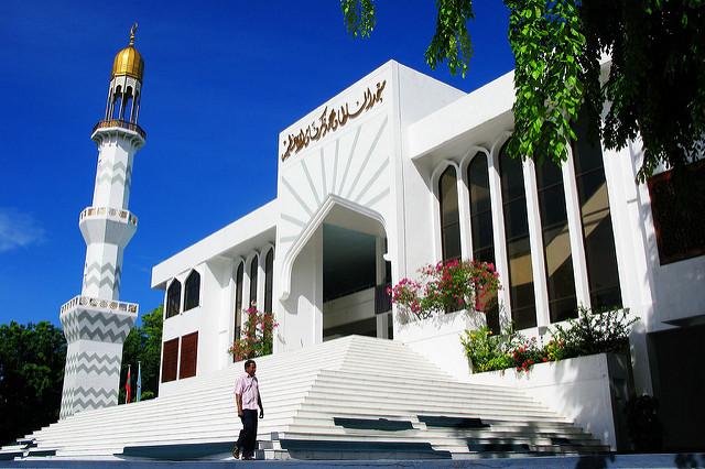 Principal mesquita de Male: Masjid-al-Sultan Muhammad Thakurufaanu Al Auzam
