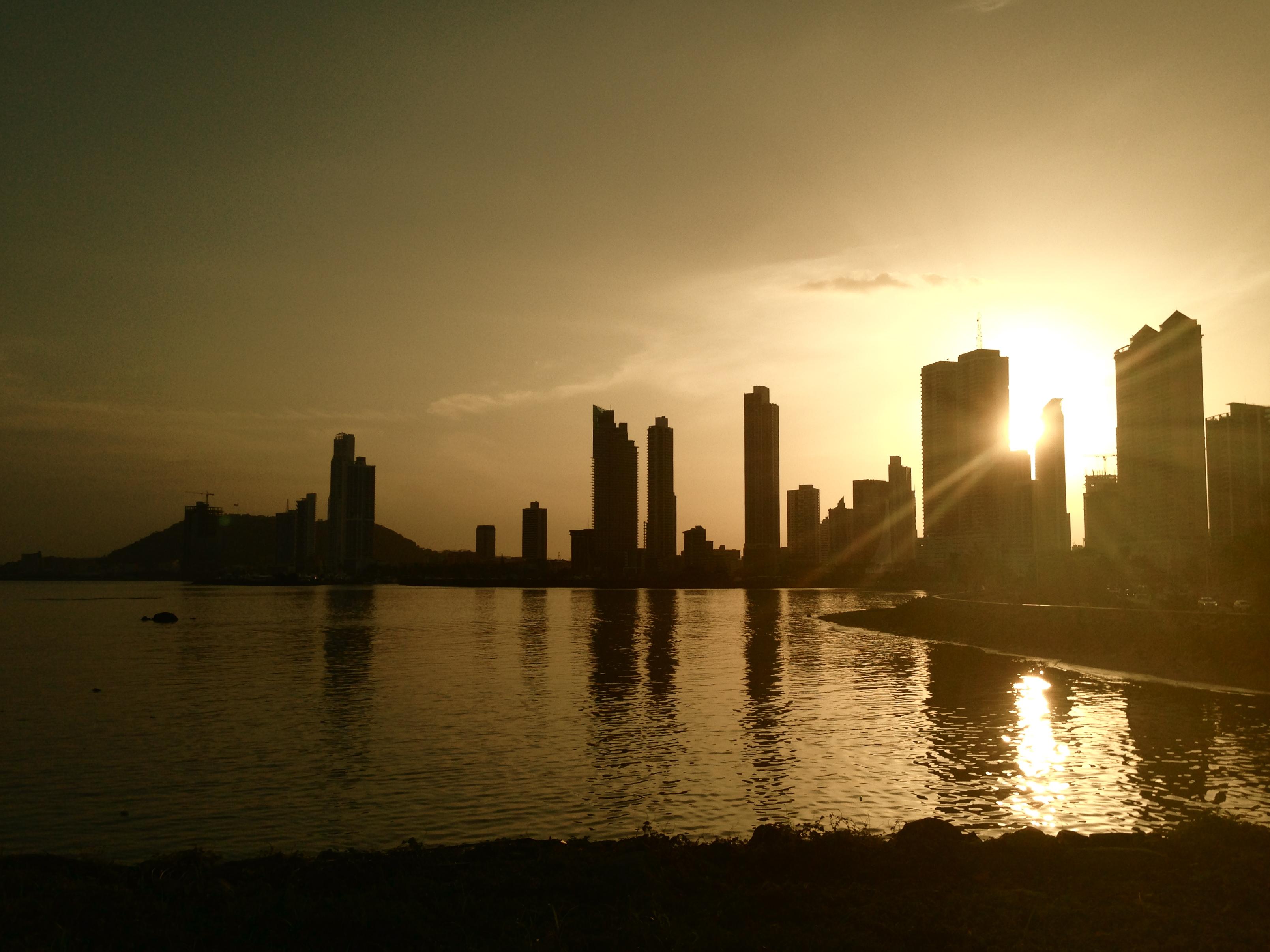 Praia na Cidade do Panamá