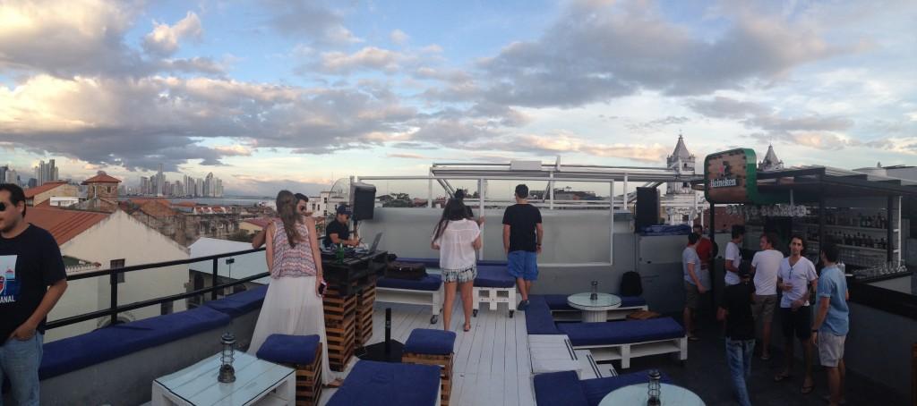 Rooftop Gatto Blanco - Casco Viejo - Panamá