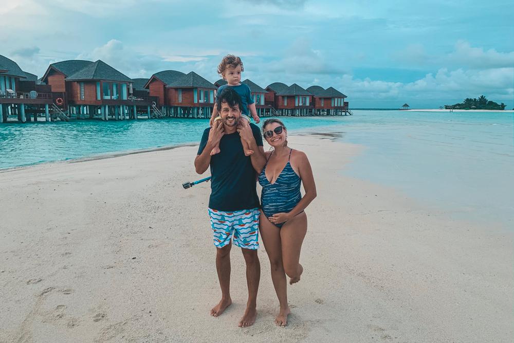 maldivas com crianças