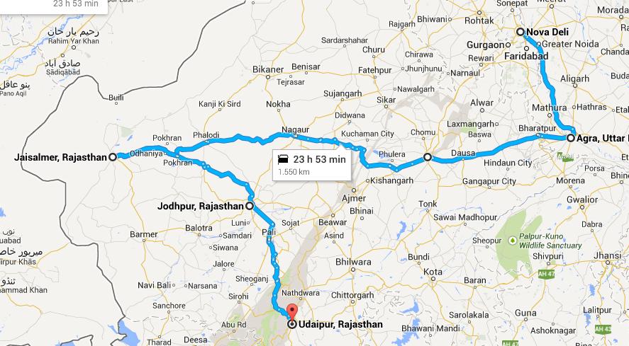 dicas da india viagem roteiro