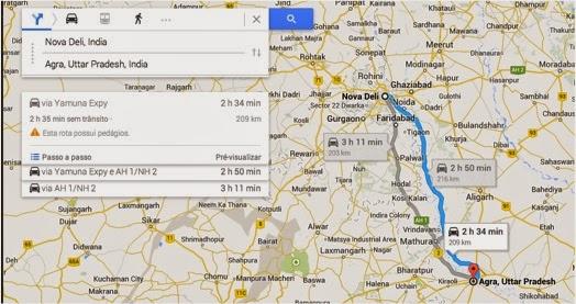 dicas de viagem para india - Yamuna Express Way - Delhi - Agra