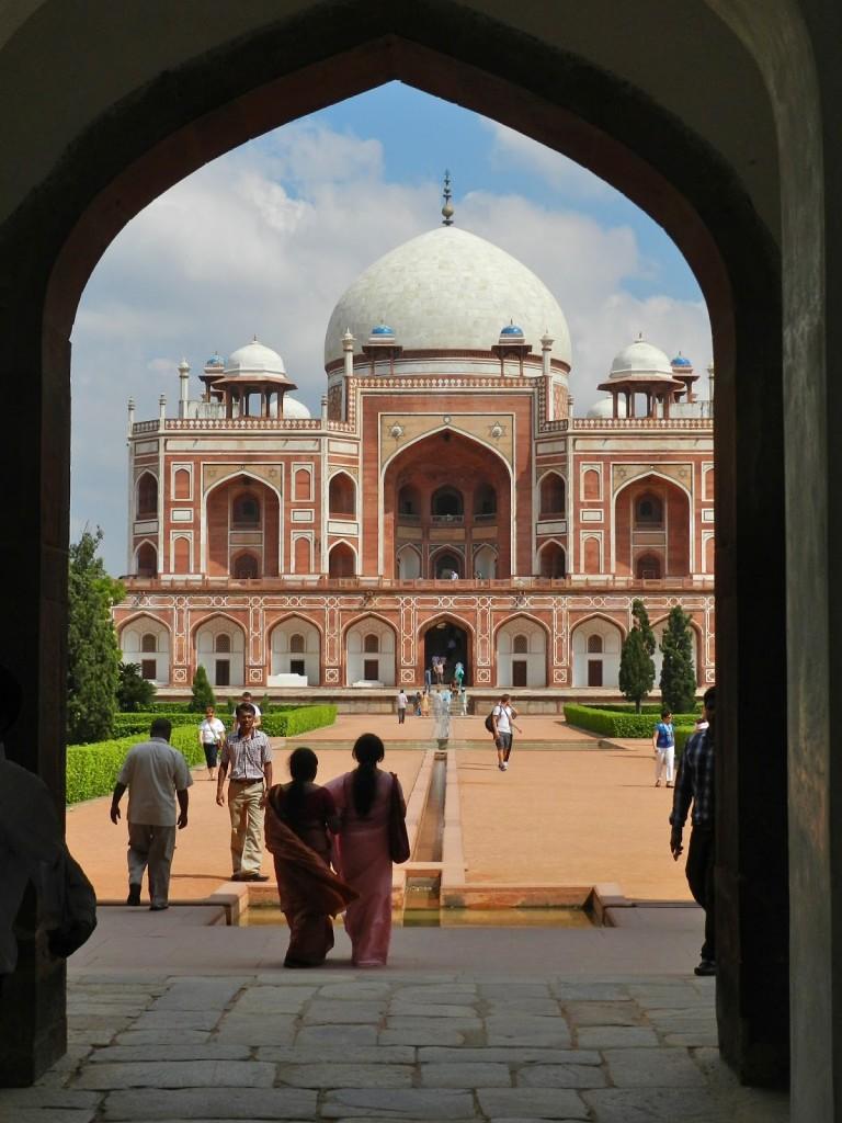 tumba de humayun new delhi - viagem para india
