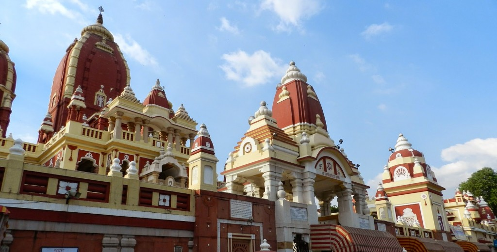 Laxmi Narayan Temple - new delhi - viagem para india