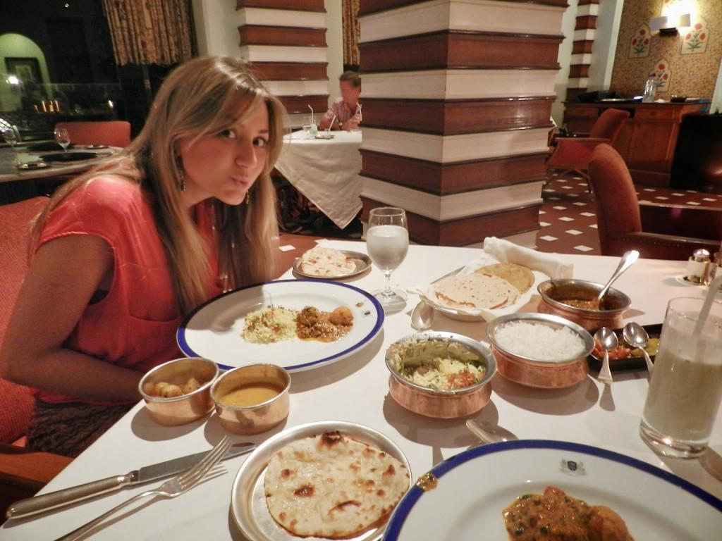viagem india alimentação comida
