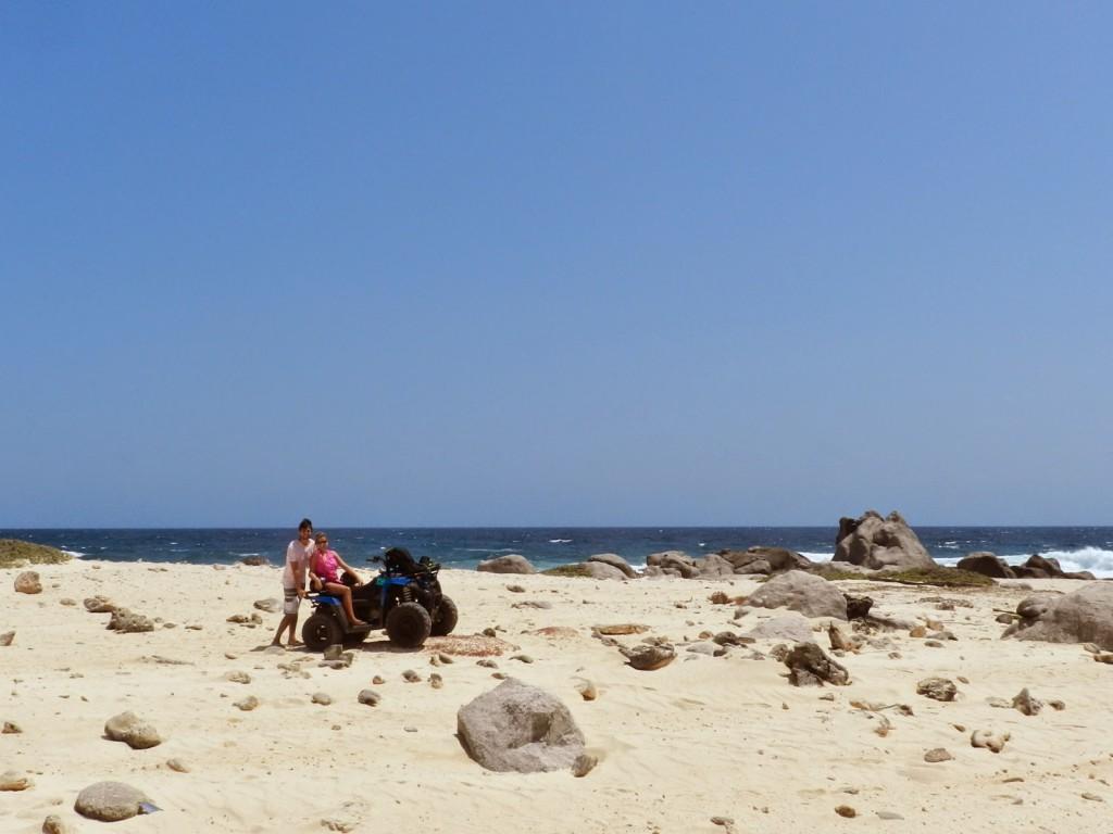 09 norte da ilha quadriciclo - o que fazer - dicas de aruba