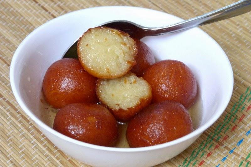 comida indiana Gulab Jamun