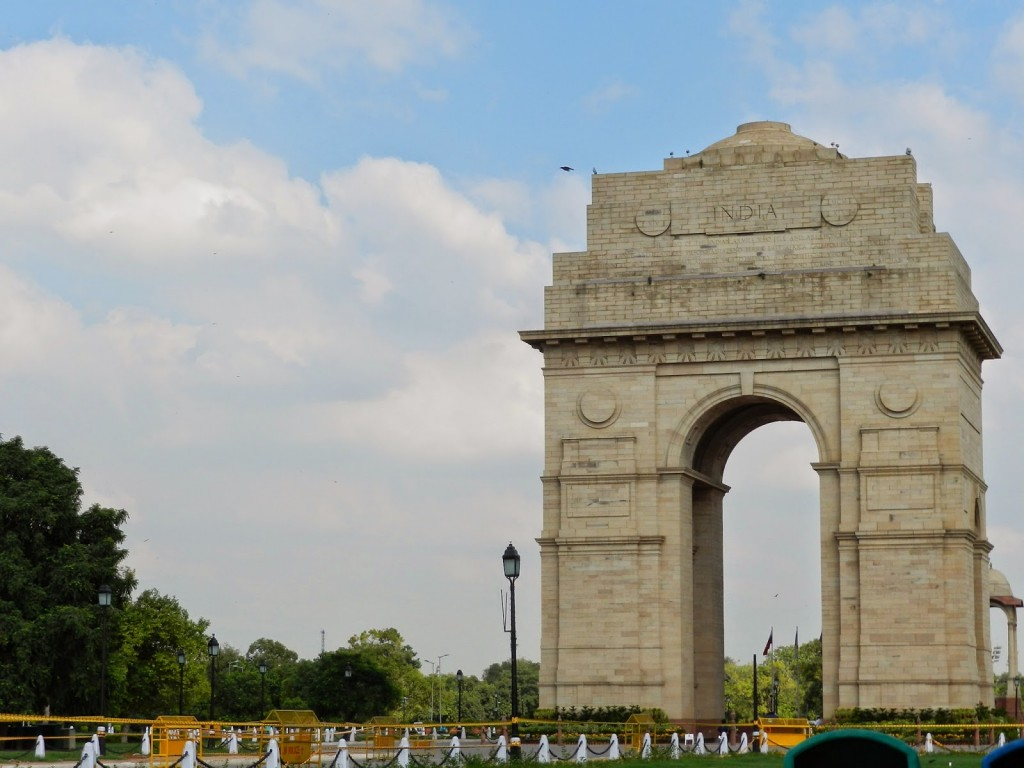 india gate new delhi - viagem para india