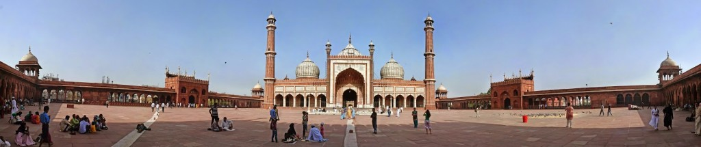 mesquita jama masjid old delhi - viagem para india