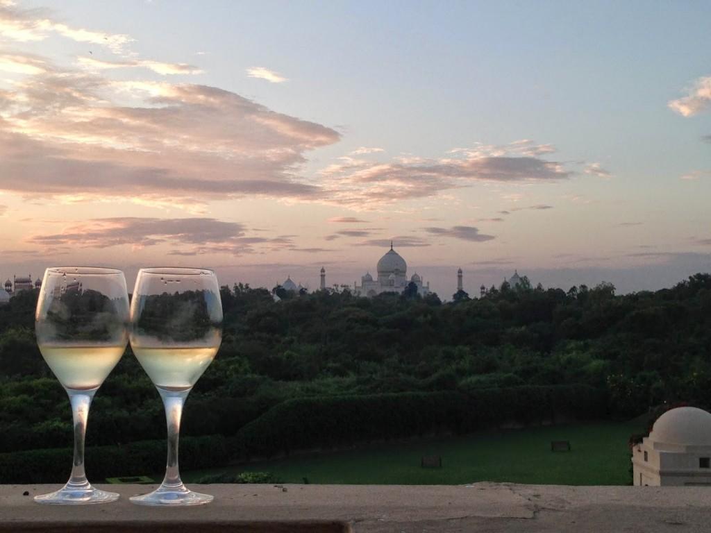 16 vista oberoi amarvilas hotel taj mahal AGRA - viagem india