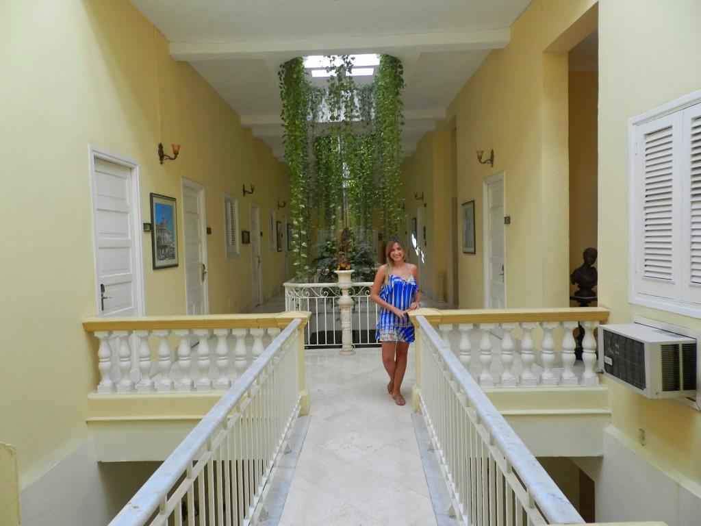 02 hotel inglaterra - onde se hospedar em havana - dicas de viagem cuba