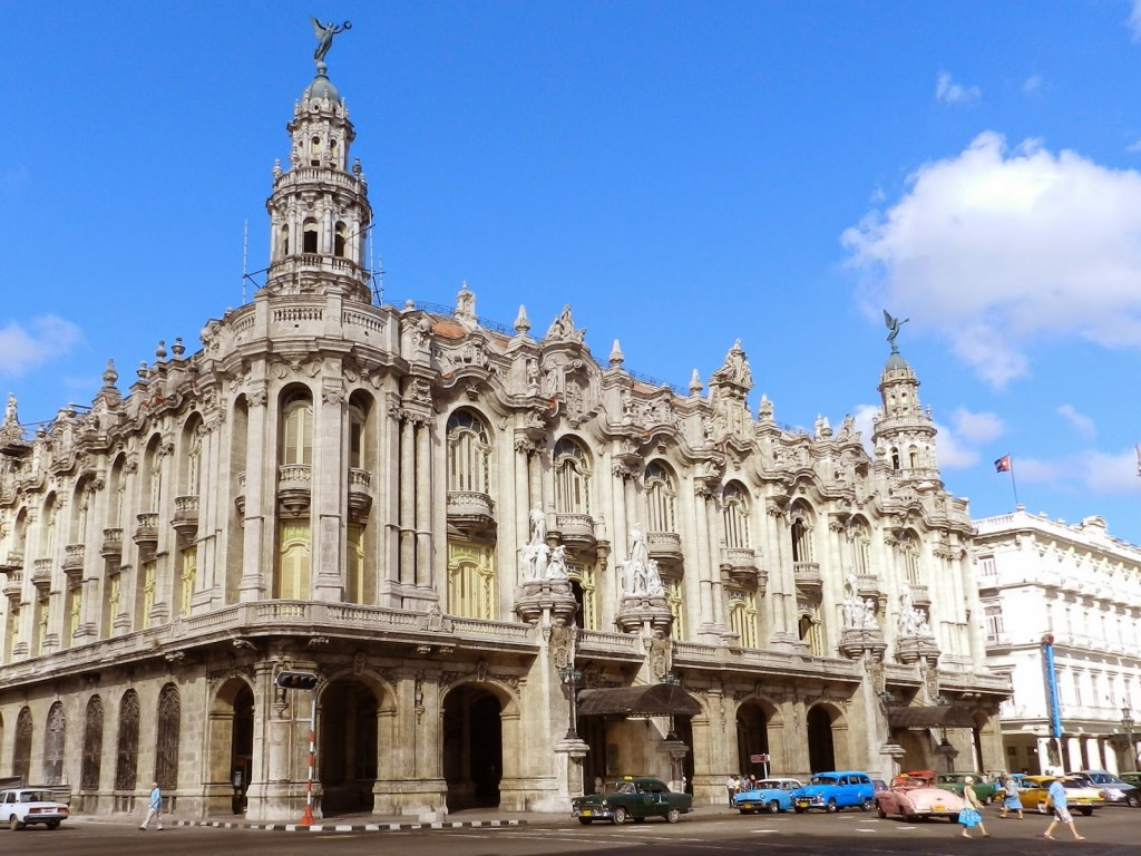03 Gran Teatro de Habana - Paseo del Prado - o que fazer em havana - dicas de viagem CUBA