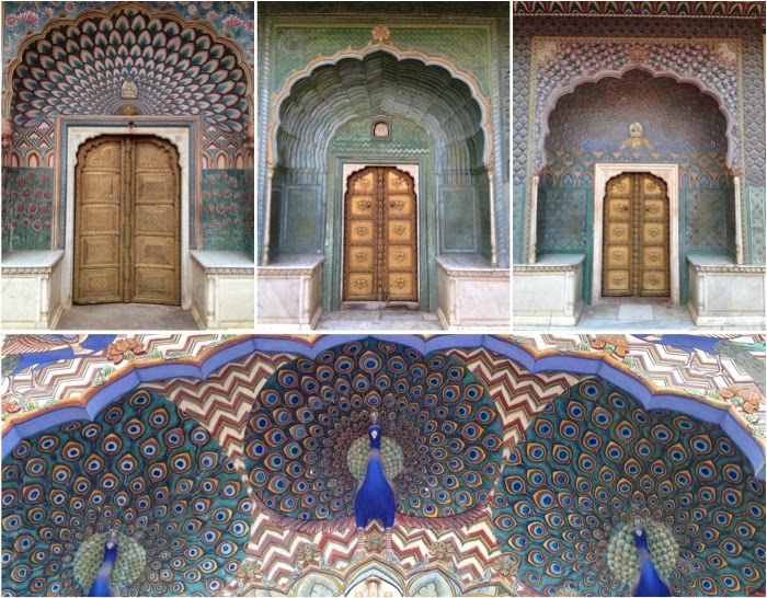City Palace, Jaipur | Cada porta representa uma estação do ano (lindo!!!)