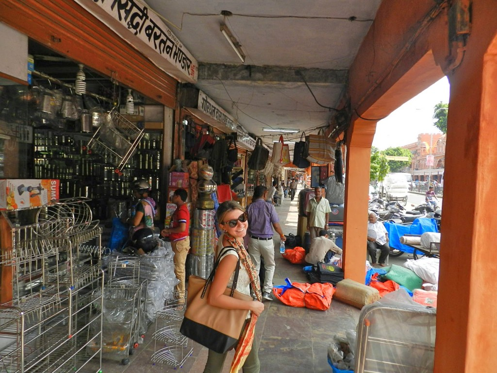 Pelas ruas de Jaipur | Bazares