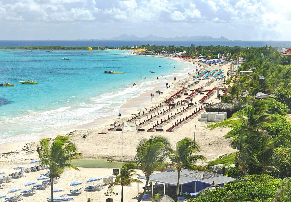 12 Orient beach - St Maarten e St Martin - dicas de viagem Caribe