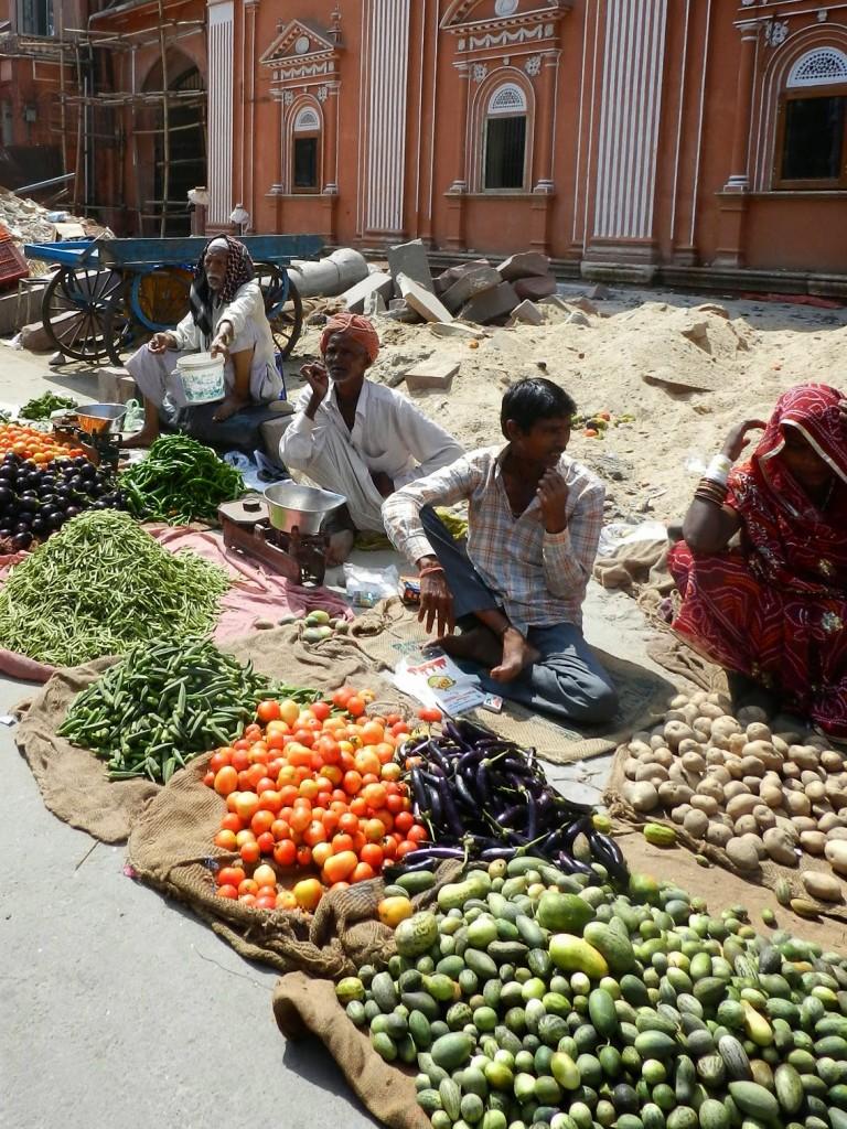 Pelas ruas de Jaipur...