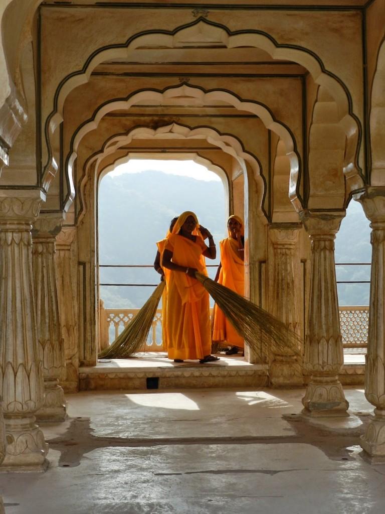 18 amber fort jaipur - rajastao - india viagem