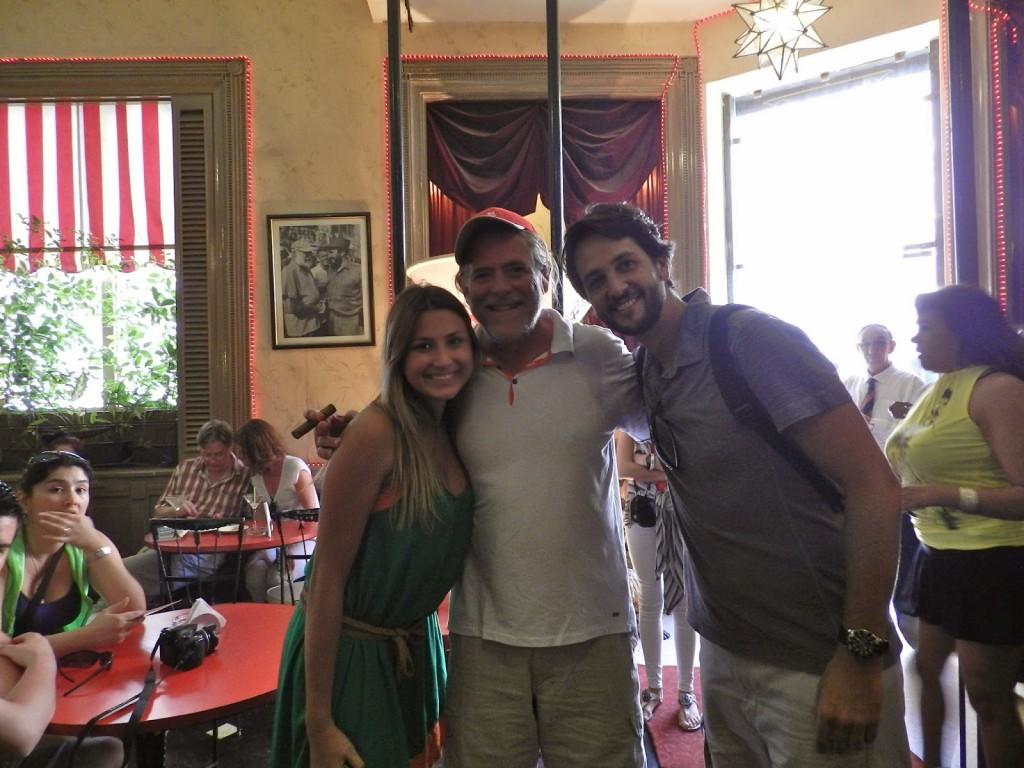 Olha só quem encontramos por lá... José de Abreu!