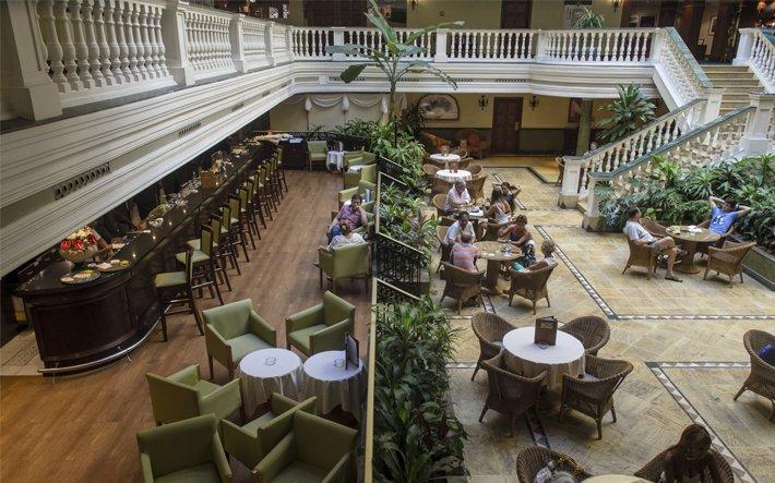 Lobby do Hotel Iberostar Parque Central em Havana - Cuba