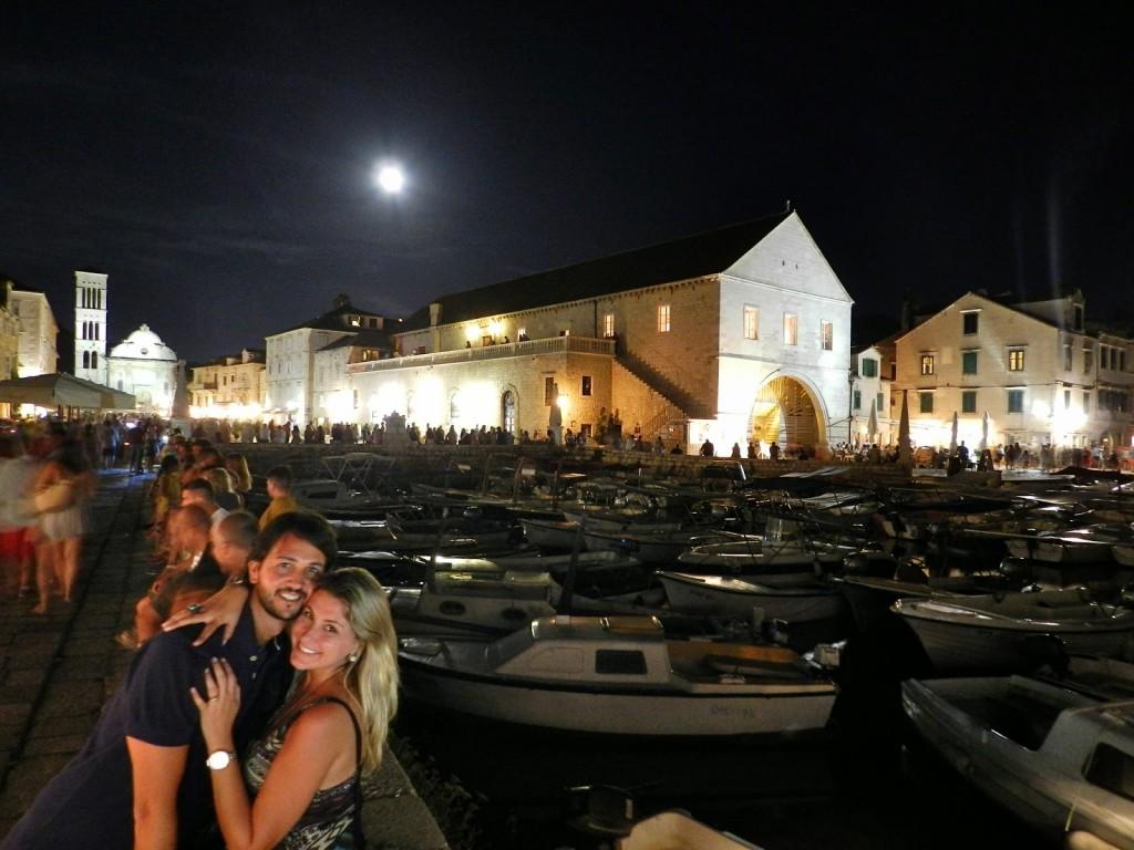 turismo em hvar croacia verão