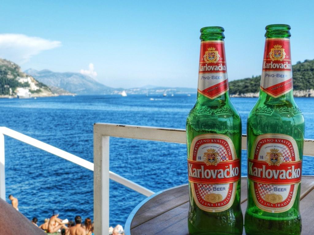 Bar em Dubrovnik Mala Buza Cerveja
