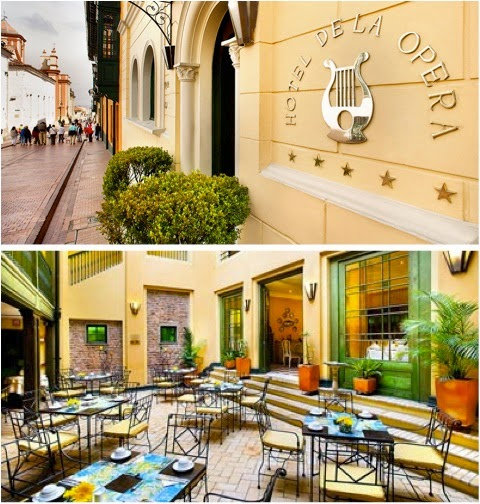 06 Hotel de La Opera Centro Candelaria - turismo em bogota - dicas de viagem colombia