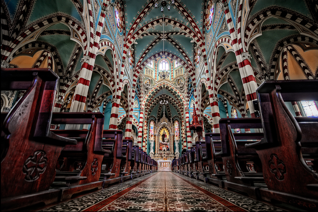 14 Iglesia Nuestra Señora del Carmen - Centro Candelaria - turismo em bogota - dicas de viagem colombia
