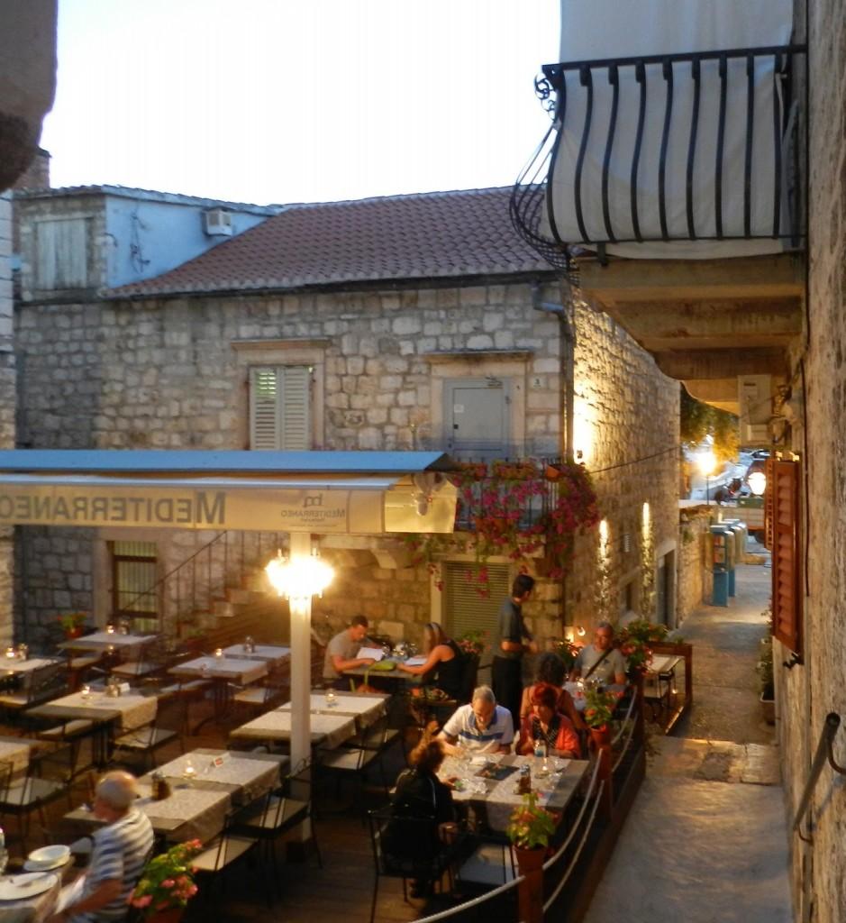 restaurantes hvar croacia