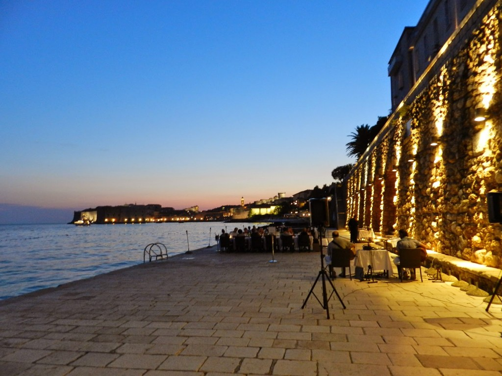 Restaurante PRORA, no Hotel Excelsior de Dubrovnik