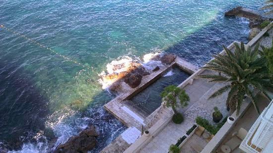 Piscina do hotel Excelsior Dubrovnik