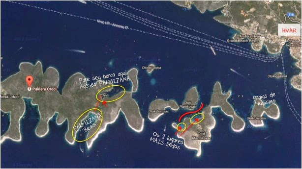 28 mAP pakleni islands rented boat hvar croatia