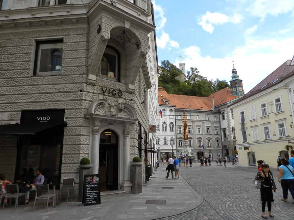 06 restaurantes ljubljana eslovenia - sorvete VIGO Vigò Ice cream - dicas de viagem