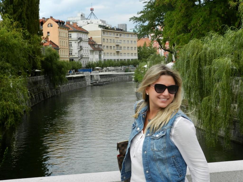 08 ponte Cobbler's Bridge or Shoemaker's Bridge - Cevljarski Most - Rio Ljubljanica - o que fazer em ljubljana eslovenia - dicas de viagem