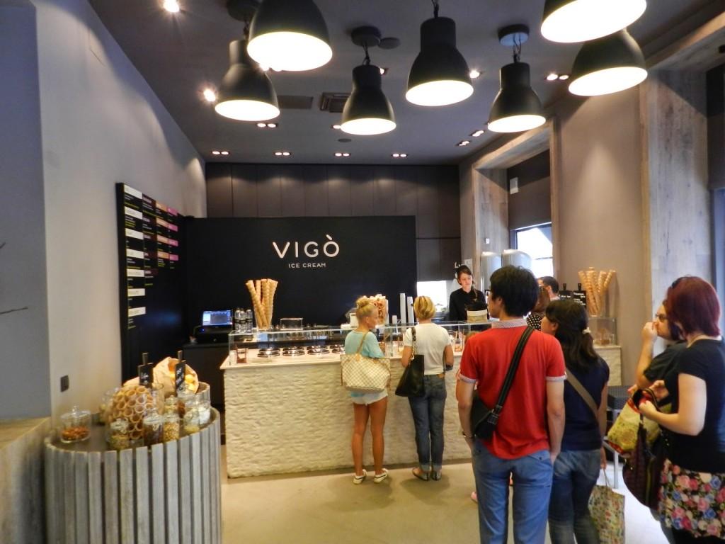 08 restaurantes ljubljana eslovenia - sorvete VIGO Vigò Ice cream - dicas de viagem