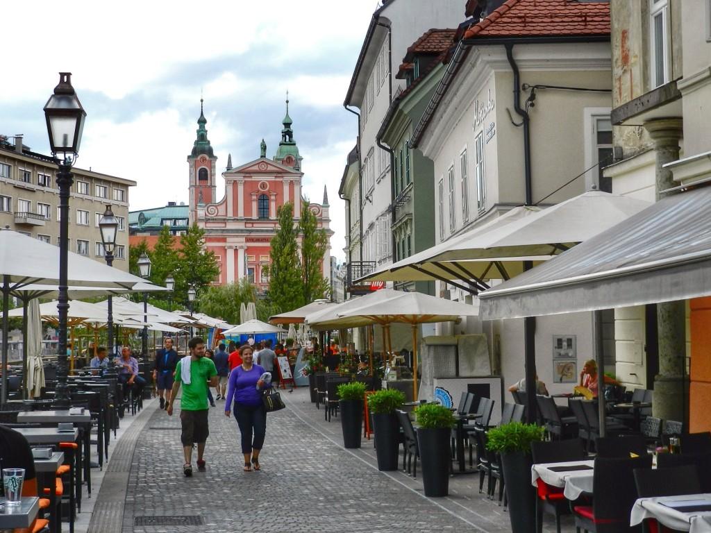 09 B Preseren Square - o que fazer em ljubljana eslovenia - dicas de viagem