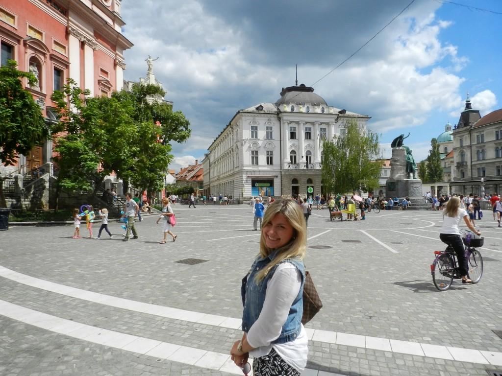 09 Preseren Square - o que fazer em ljubljana eslovenia - dicas de viagem