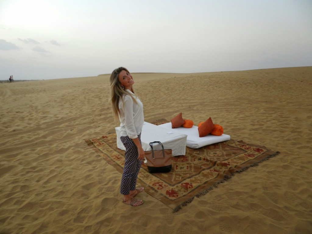 22 dinner on the dunes thar desert suryagarh hotel jaisalmer rajastao india
