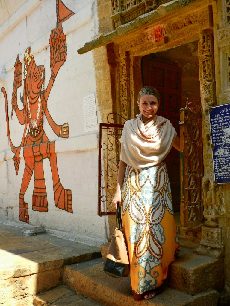 22 laxminath surya hindu temple jaisalmer fort rajasthan india
