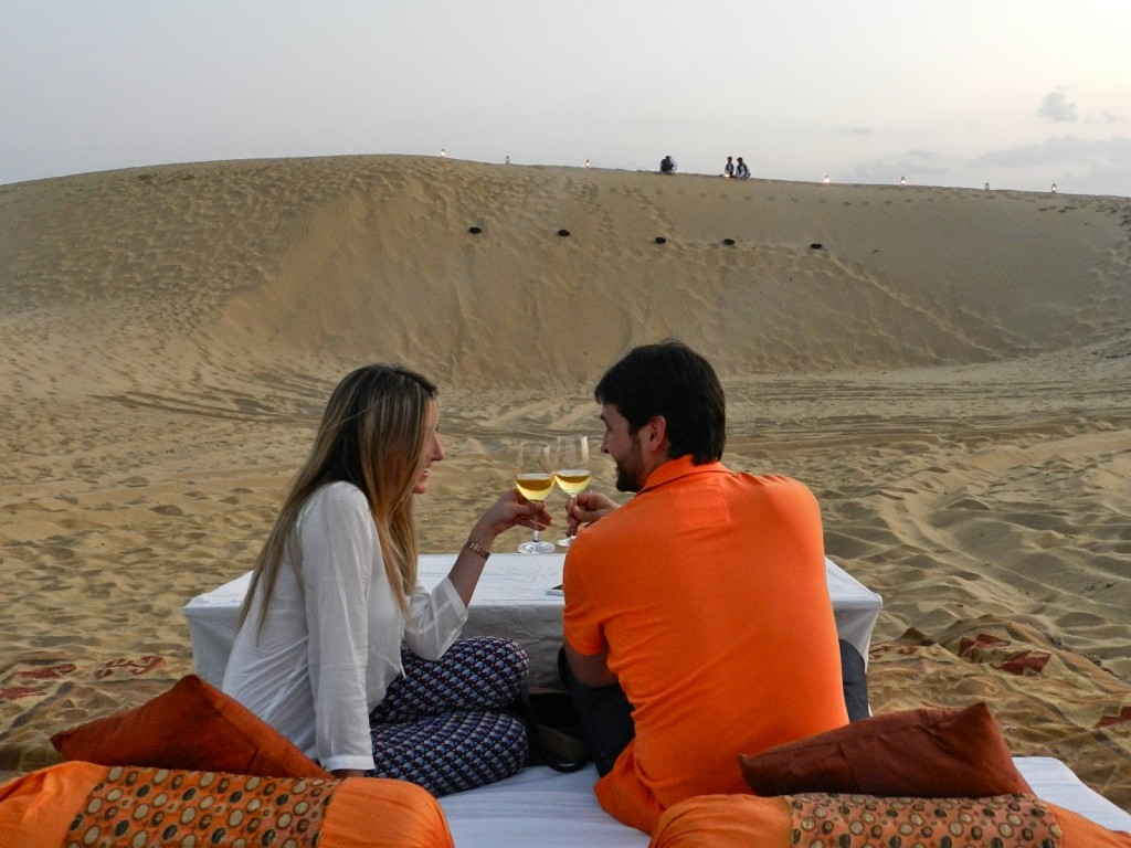 24 dinner on the dunes thar desert suryagarh hotel jaisalmer rajastao india