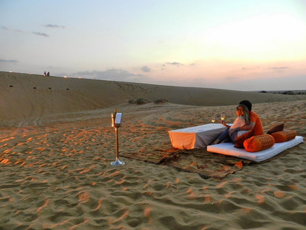 25 dinner on the dunes thar desert suryagarh hotel jaisalmer rajastao india