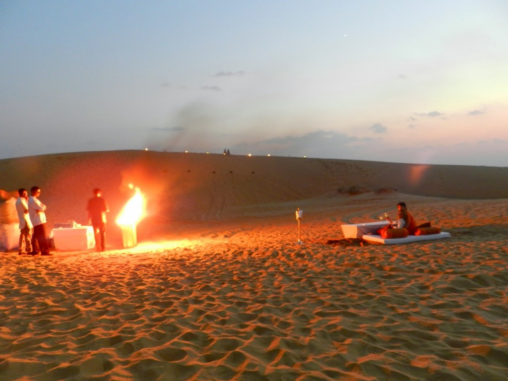 26 dinner on the dunes thar desert suryagarh hotel jaisalmer rajastao india