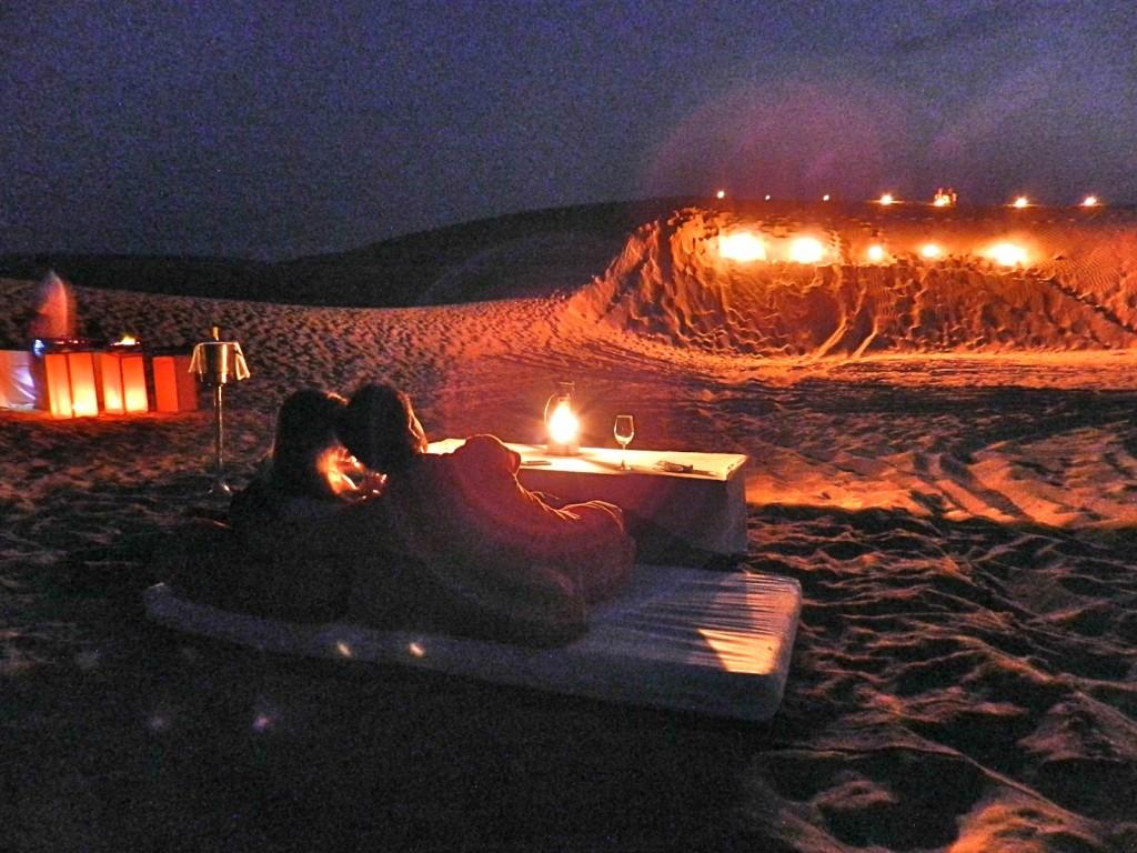 27 dinner on the dunes thar desert suryagarh hotel jaisalmer rajastao india